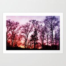 Vibrant Sky Art Print