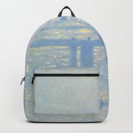 "Claude Monet ""Charing Cross Bridge"" Backpack"