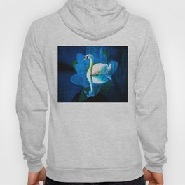 Water Lily And Swan By Annie Zeno  Hoody