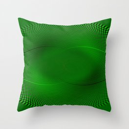 Not easy being Green Throw Pillow