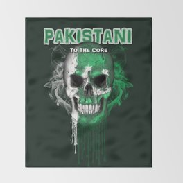 To The Core Collection: Pakistan Throw Blanket