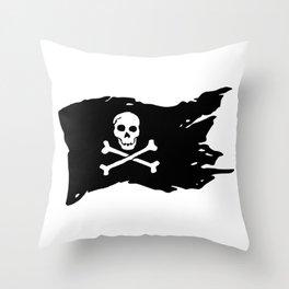 Pirate Flag Throw Pillow