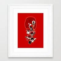 manga Framed Art Prints featuring Manga family! by LuisD