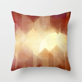 Welcome to Gear City Throw Pillow