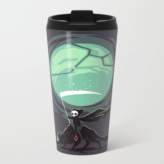 Little Reaper Metal Travel Mug