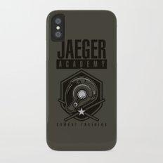 Jaeger Academy iPhone X Slim Case