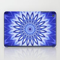 parks and recreation iPad Cases featuring Mandala Recreation by Christine baessler