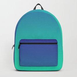 LUSH COVE - Minimal Plain Soft Mood Color Blend Prints Backpack