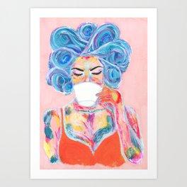 Morning Ritual Art Print