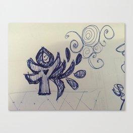 Spreading Love Canvas Print
