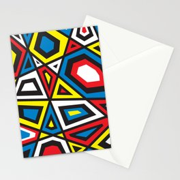 Primary colors 7 Stationery Cards
