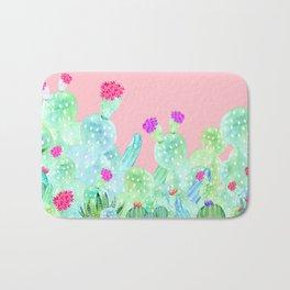 Cacti Garden Bath Mat