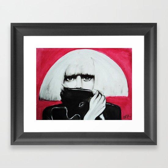 Mons†er Framed Art Print