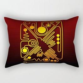 Nazca Hummingbird  Rectangular Pillow