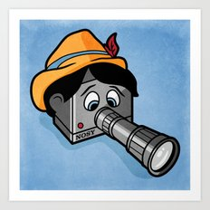The Camera Never Lies... Art Print