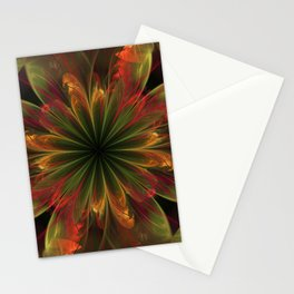 Moody fall abstract Stationery Cards