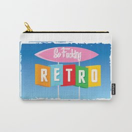 So Fucking Retro Carry-All Pouch