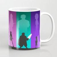 big hero 6 Mugs featuring The Big Hero 6 by Travis Love