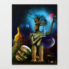 Culture Clash Canvas Print