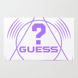 Guess ? Rug