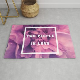 Two People In Love Rug