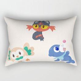 Alola Starters Rectangular Pillow