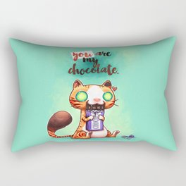 Chocolate addict Rectangular Pillow