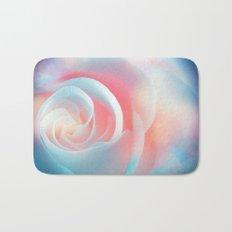 Rose flower and bokeh- Roses Bath Mat