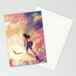 Changing the sky Stationery Cards