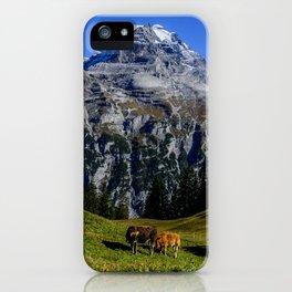 Eiger Mönch Jungfrau iPhone Case