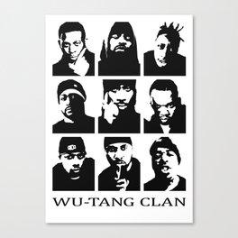 Wu Tang Canvas Print