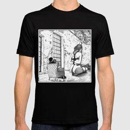 asc 624 - Le photographe et son modèle (Nicolas Guerin in Moscow) T-shirt
