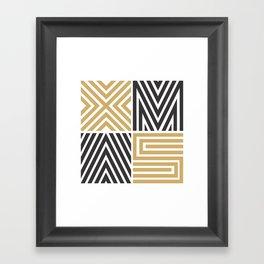 Xmas Typo #society6 #decor #buyart Framed Art Print
