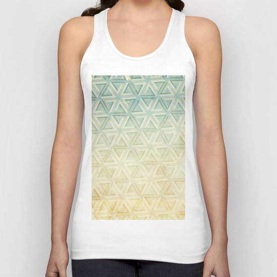 escher pattern Unisex Tank Top