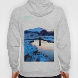 Snowy puddles Hoody