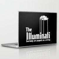 illuminati Laptop & iPad Skins featuring The Illuminati by RooDesign