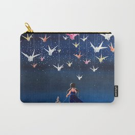 Origami Dream Carry-All Pouch