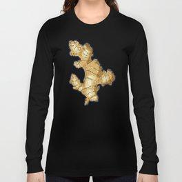 ginger root power Long Sleeve T-shirt