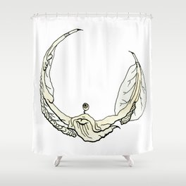 Cornvoler Beverage Beastie Shower Curtain