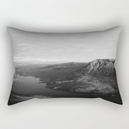 Loch Lurgainn and Beinn an Eoin Rectangular Pillow