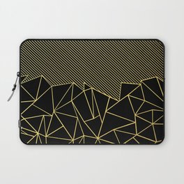 Ab Lines 45 Gold Laptop Sleeve