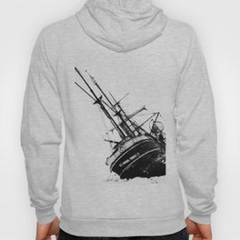 Black Dragon Lost Ship Design Hoody