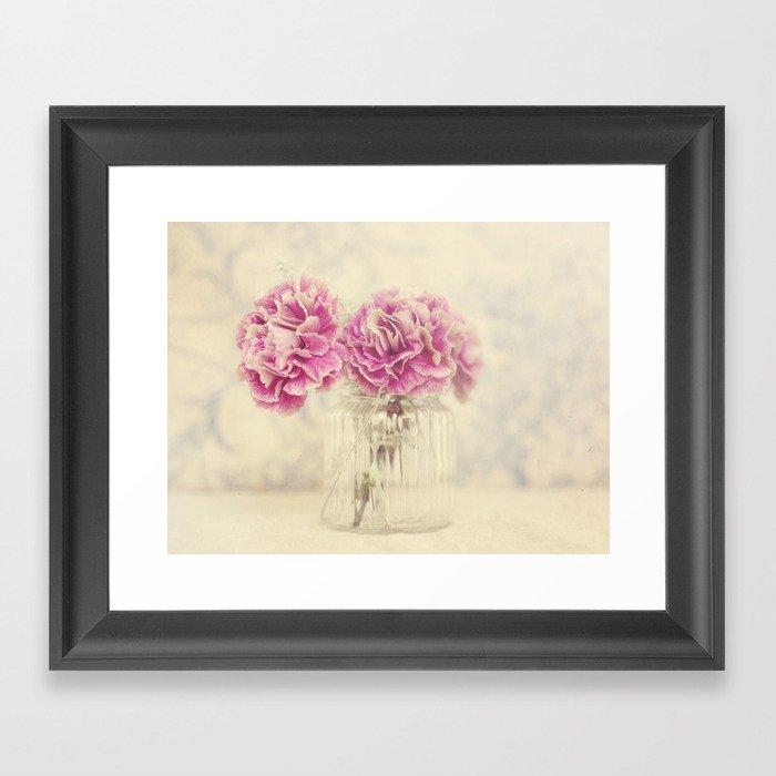 Flower Light  Framed Art Print