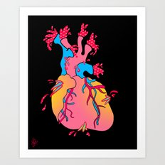heartburst Art Print