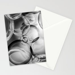 Bubble Noir Stationery Cards