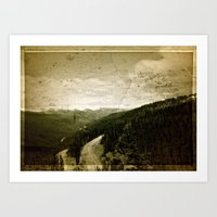 welcome Art Prints featuring Welcome  by n8 bucher