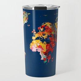 World Map 24 Travel Mug