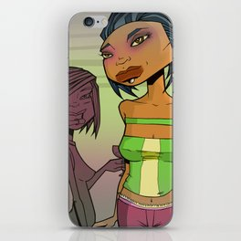 Crummy Party iPhone Skin