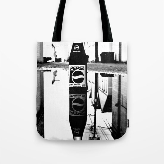 Reflected Pepsi Tote Bag