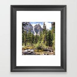 Mountain Ravine Framed Art Print